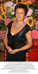 Actress JULIE WALTERS at a dinner in London on 2nd September 2003.PMA 88