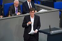 DEU, Deutschland, Germany, Berlin, 15.03.2018: Dr. Lukas Köhler (FDP) nach einer Rede im Deutschen Bundestag.