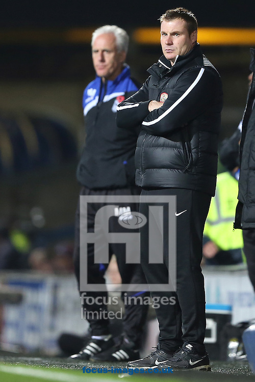 Picture by Richard Calver/Focus Images Ltd +447792 981244<br /> 01/11/2013<br /> Manager of Barnsley, David Flitcroft during the Sky Bet Championship match at against Ipswich Town at Portman Road, Ipswich.