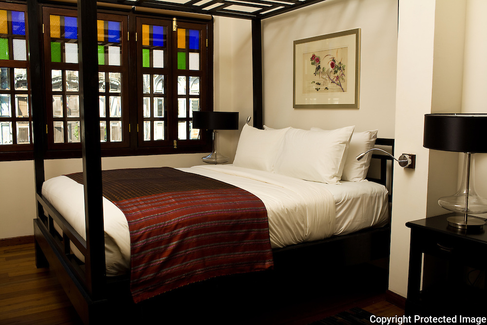 typical guest room at the Penaga Hotel
