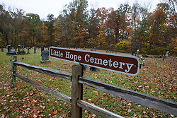 Little Hope Cemetery, Mammoth Cave National Park, Kentucky, United States of America