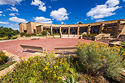 Visitor center at Canyons of the Ancients National Monument, Colorado USA (MR)