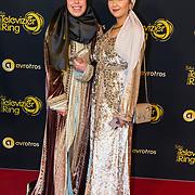 NLD/Amsterdam/20191009 - Uitreiking Gouden Televizier Ring Gala 2019, Samya Hafsaoui en Nisrine Sahla