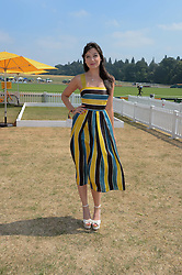 DAISY LOWE at the Veuve Clicquot Gold Cup, Cowdray Park, Midhurst, West Sussex on 21st July 2013.