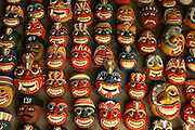Masks. Handicrafts.