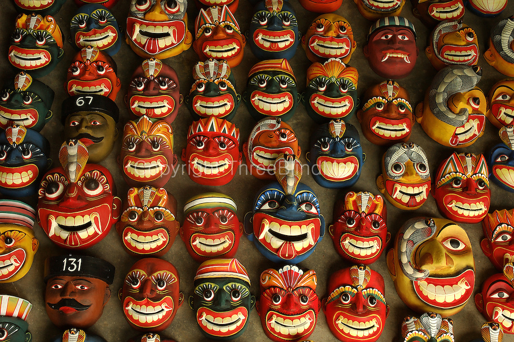 Masks. Handicrafts.