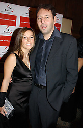 DARREN & SARA DEIN he is the son of the Vice Chairman of Arsenal FC at a dinner hosted by footballer Patrick Vieira and the Diambars UK Charital Trust at The Landmark Hotel, 222 Marylebone Road, London NW1 on 3rd February 2005.<br /><br />NON EXCLUSIVE - WORLD RIGHTS