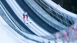 31.12.2016, Olympiaschanze, Garmisch Partenkirchen, GER, FIS Weltcup Ski Sprung, Vierschanzentournee, Garmisch Partenkirchen, Training, im Bild Robert Johansson (NOR) // Robert Johansson of Norway during his Practice Jump for the Four Hills Tournament of FIS Ski Jumping World Cup at the Olympiaschanze in Garmisch Partenkirchen, Germany on 2016/12/31. EXPA Pictures © 2016, PhotoCredit: EXPA/ Jakob Gruber