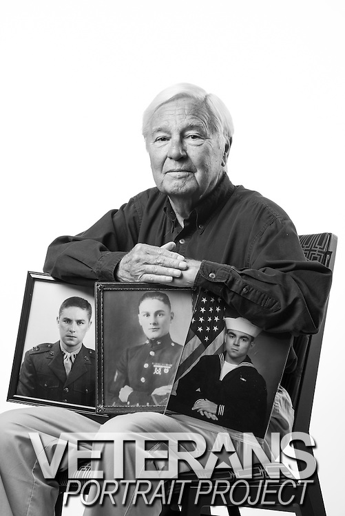 John Allison<br /> Marine Corps<br /> O-3<br /> Motor Transport<br /> Korean War<br /> June 1952 - June 1962<br /> <br /> Veterans Portrait Project<br /> Philadelphia, PA