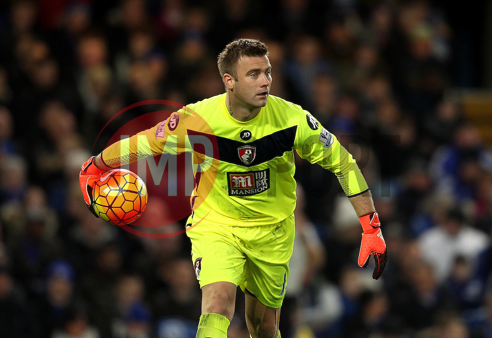 Artur Boruc of Bournemouth - Mandatory byline: Robbie Stephenson/JMP - 05/12/2015 - Football - Stamford Bridge - London, England - Chelsea v AFC Bournemouth - Barclays Premier League
