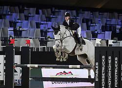Dierickx Lisa, (BEL), Calvin <br /> Super Final Youth Cup VLP-LRV<br /> Vlaanderen Kerstjumping - Memorial Eric Wauters - <br /> Mechelen 2015<br /> © Hippo Foto - Dirk Caremans<br /> 30/12/15