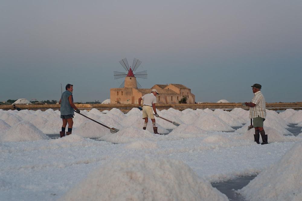 Saline di Trapani, Sicilia 2011