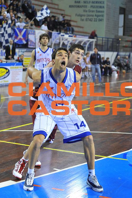 DESCRIZIONE : Foligno LNP Lega Nazionale Pallacanestro Serie A Dilettanti Coppa Italia 2009-10  Amori Fortitudo Bologna FMC Ferentino<br /> GIOCATORE :&nbsp;Francesco Quaglia<br /> SQUADRA : Amori Fortitudo Bologna <br /> EVENTO : Lega Nazionale Pallacanestro 2009-2010&nbsp;<br /> GARA : Amori Fortitudo Bologna FMC Ferentino<br /> DATA : 01/04/2010<br /> CATEGORIA : Tagliafuori<br /> SPORT : Pallacanestro&nbsp;<br /> AUTORE : Agenzia Ciamillo-Castoria/M.Gregolin<br /> Galleria : Lega Nazionale Pallacanestro 2009-2010&nbsp;<br /> Fotonotizia : Foligno LNP Lega Nazionale Pallacanestro Serie A Dilettanti Coppa Italia 2009-10 Amori Fortitudo Bologna FMC Ferentino<br /> Predefinita :&nbsp;