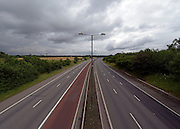 © Licensed to London News Pictures. 09/07/2012. London, UK The closed M4 motorway today 9th July 2012. The M4 has been closed between junctions 1 and 3 after a crack was found in a 'sensitive area' of an elevated section of the motorway. The M4, part of the Olympic Route Network, will be vital for transporting visitors into the city from Heathrow Airport. Photo credit : Stephen Simpson/LNP