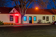 Marfa, Texas, renovated storefronts