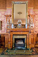 Fireplace at 43 West 73rd Street