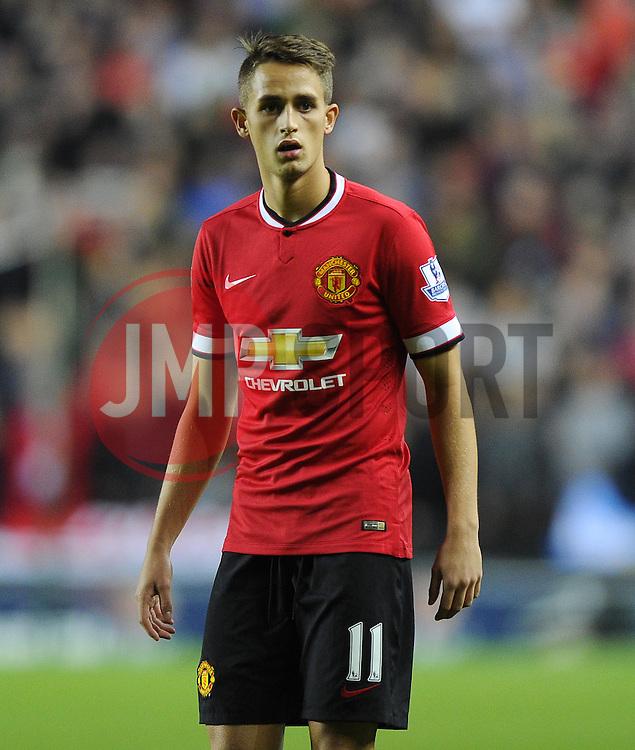 Manchester United's Adnan Januzaj - Photo mandatory by-line: Joe Meredith/JMP - Mobile: 07966 386802 26/08/2014 - SPORT - FOOTBALL - Milton Keynes - Stadium MK - Milton Keynes Dons v Manchester United - Capital One Cup