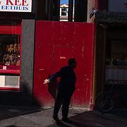Amsterdam, 12 september 2014. Een moment in Chinatown Amsterdam. Foto: Pepijn Hooimeijer.