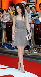 Red 2 UK film premiere.<br /> Mary Louise Parker during the premiere of the sequel to 2010's graphic novel adaption, about a group of retired assassins. <br /> Empire Leicester Square<br /> London, United Kingdom<br /> Monday, 22nd July 2013<br /> Picture by i-Images