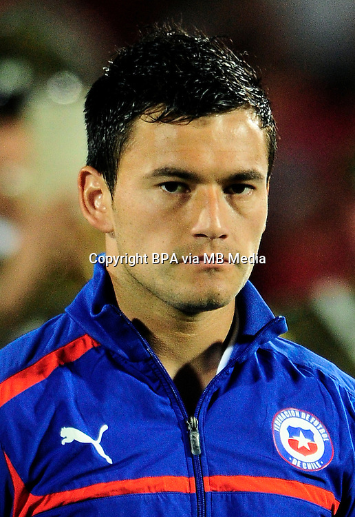 Football Fifa Brazil 2014 World Cup / <br /> Chile National Team - <br /> Charles Aranguiz of Chile