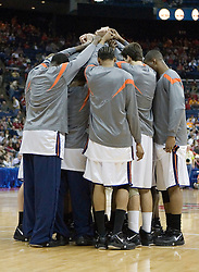 The #4 seed Virginia Cavaliers were defeated by the #5 seed Tennessee Volunteers 77-74 in the second round of the Men's NCAA Tournament in Columbus, OH on March 18, 2007.