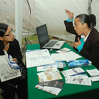 Toluca, Mex.- La Facultad de Economía realizó su 1ra Feria del Empleo, Prácticas Profesionales y Servicio Social, en coordinación con la Secretaría de Extensión y Vinculación de la Universidad Autónoma del Estado de México, así como la secretaría del Trabajo de esta entidad. Agencia MVT / José Hernández. (DIGITAL)<br /> <br /> <br /> <br /> NO ARCHIVAR - NO ARCHIVE