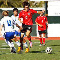 Marin Academy v. Justin Sienna Boys Soccer 111310