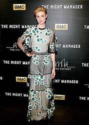 Elizabeth Debicki at the Los Angeles premiere of AMC's 'The Night Manager' held at the DGA Theater in Hollywood, USA on April 5, 2016. EXPA Pictures © 2016, PhotoCredit: EXPA/ Photoshot/ Lumeimages.com<br /> <br /> *****ATTENTION - for AUT, SLO, CRO, SRB, BIH, MAZ, SUI only*****