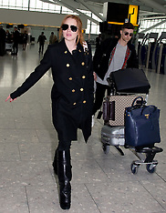 APR 11 2014 Lindsay Lohan and boyfriend Christian Arno Williams