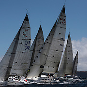 Yacht's compete in The Rolex Trophy 2008 Rating series run by The Cruising Yacht Club of Australia on December 20, 2008 in Sydney, Australia. The racing series, conducted in the waters around Sydney, is a preliminary tournament to the Rolex Sydney Hobart Yacht race 2008 which will start of Boxing Day, December 26th. Over 100 yacht's are entered in this years race with spectators on the Sydney Harbour foreshore estimated to reach around 500,000 people. Photo Tim Clayton