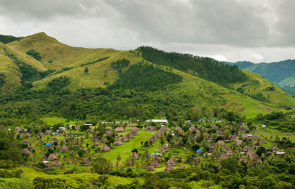 Navala Village in the highlands of northern Viti Levu Island, Fiji.