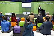 The Linux Foundation host its Open Networking Summit 2016 at Santa Clara Convention Center in Santa Clara, California, on March 16, 2016. (Stan Olszewski/SOSKIphoto)