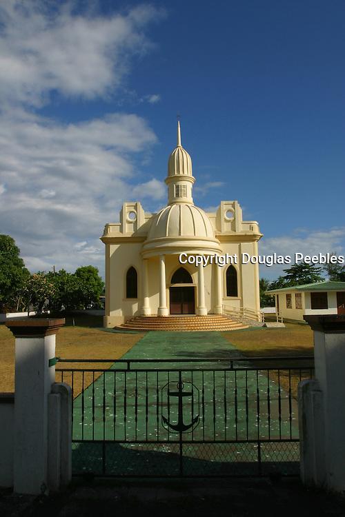 Protestant Church, Island of Tahiti, French Polynesia<br />