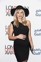© Licensed to London News Pictures. 08/10/2014, UK. Kimberly Wyatt, London Lifestyle Awards 2014, The Troxy, London UK, 08 October 2014. Photo credit : Brett D. Cove/Piqtured/LNP