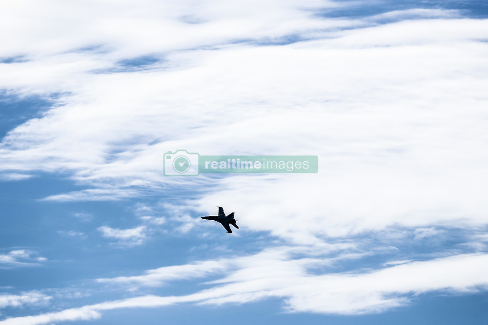 March 24, 2018 - Melbourne, Victoria, Australia - McDonnell Douglas F/A-18 Hornet during 2018 Formula 1 championship at Melbourne, Australian Grand Prix, from March 22 To 25 - s: FIA Formula One World Championship 2018, Melbourne, Victoria : Motorsports: Formula 1 2018 Rolex  Australian Grand Prix, (Credit Image: © Hoch Zwei via ZUMA Wire)