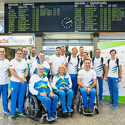 20160831: SLO, Paralympic Games - Departure of Slovenian Team to Rio