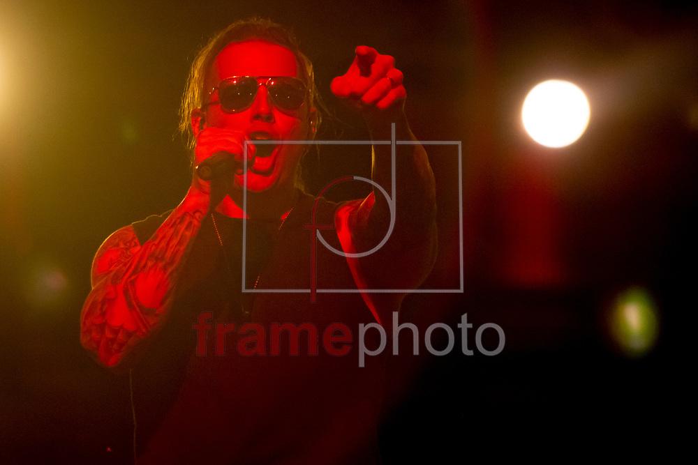 RIO DE JANEIRO (RJ) - 22/09/2013 -  Show de Avenged Sevenfold, no palco mundo do ROCK IN RIO 2013, realizado na cidade do rock, bairro de Jacarepagua, Rio de Janeiro, RJ. Foto: Ide Gomes/Frame