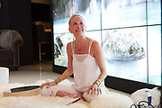 Kundalini yoga instructor Normandie Keith