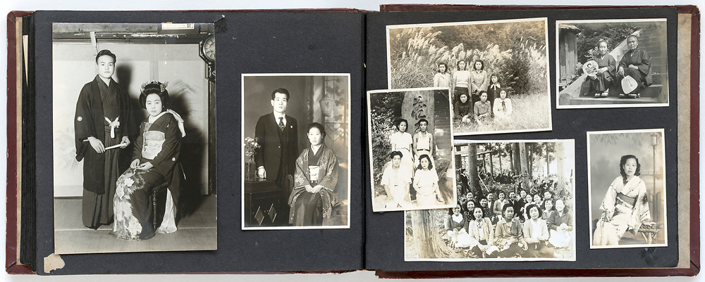 family photo album Japan 1940s through 1950s