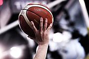 pallone molten, mani<br /> Umana Reyer Venezia - Fiat Auxilium Torino<br /> PosteMobile Final 8 2018 <br /> Quarti di Finale<br /> LegaBasket 2017/2018<br /> Firenze, 15/02/2018<br /> Foto M.Ceretti / Ciamillo - Castoria