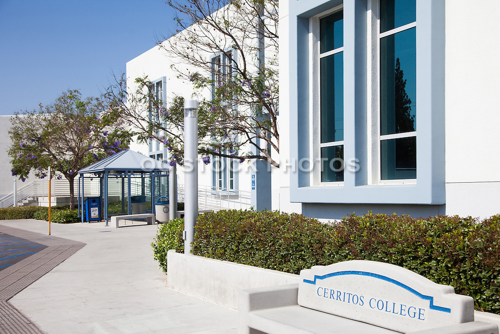 Cerritos Community College Stock Photo