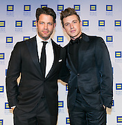 Interior designers Nate Berkus and Jeremiah Brent at the HRC's Greater NY Gala 2014 held at the Waldorf=Astoria in New York City on Saturday, February 8, 2014. (Photo: JeffreyHolmes.com)
