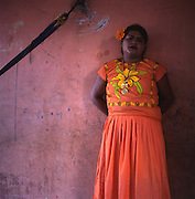 Juchitan, Mexico:  Muxes (transvestites) are very common, and accepted, in this Southern Oaxacan region, which claims to not discriminate against gays. The matriarchal society is still driven by women but in flux in the machismo culture of Mexico. (photo: Ann Summa).