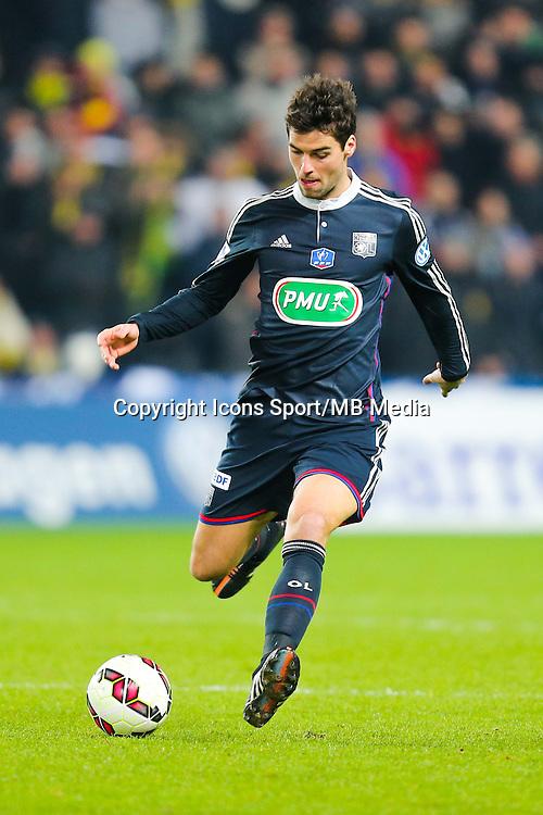 Yoann GOURCUFF  - 20.01.2015 - Nantes / Lyon  - Coupe de France 2014/2015<br /> Photo : Vincent Michel / Icon Sport