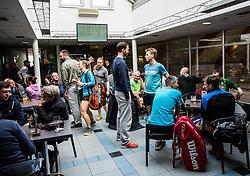 Drzavno prvenstvo veteranskih dvojic v tenisu, 24. marec 2018, BTC Millenium center, Ljubljana, Slovenia. Photo by Vid Ponikvar / Sportida
