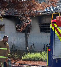 Auckland-Storage unit fire in Henderson