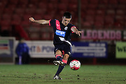 U21 Newcastle United's Dan Ward during the Barclays U21 Premier League match between U21 Brighton and Hove Albion and U21 Newcastle United at the Checkatrade.com Stadium, Crawley, England on 23 March 2016.