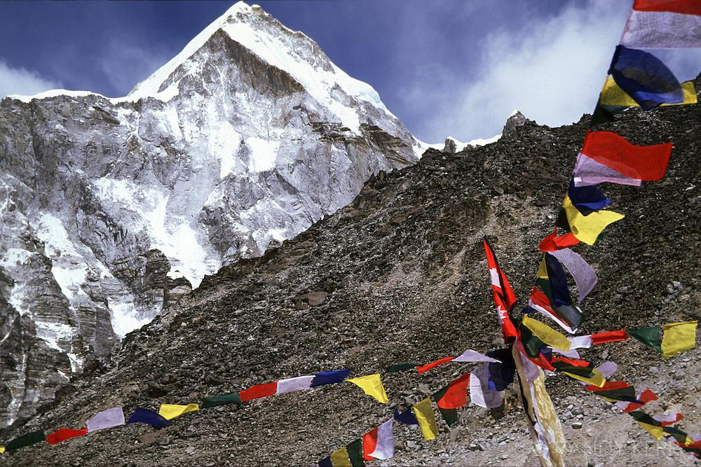 Pumori above Everest base camp