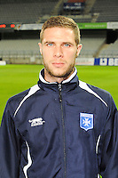 Pierre BOUBY - 31.10.2014 - Auxerre / Brest - 13eme journee Ligue 2<br />
