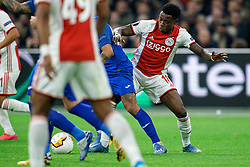 Quincy Promes #11 of Ajax in action during the Europa League match R32 second leg between Ajax and Getafe at Johan Cruyff Arena on February 27, 2020 in Amsterdam, Netherlands